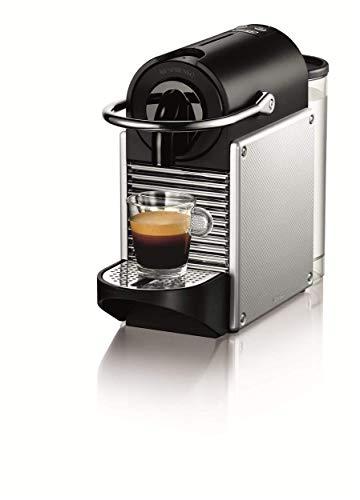 De'Longhi Nespresso EN 125.S Kapselmaschine Pixie Electric 1260 W Seitenwände Aluminium, 0,7 Liter,...