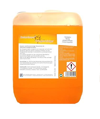 Mastercleaner Orangenreiniger Konzentrat mit nat. Orangenöl der hochwirksame und kraftvolle...