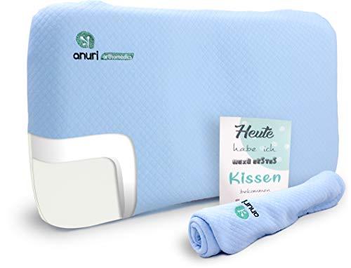 ANURI® | Babykissen gegen Plattkopf und Kopfverformung I 2-SCHICHTEN Protect System |...