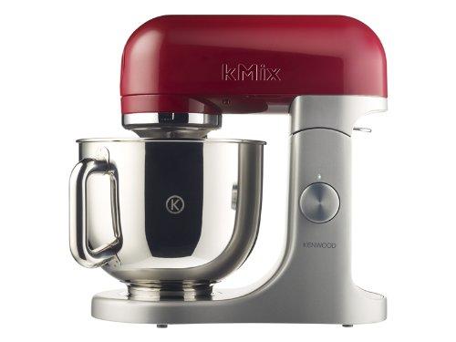 Kenwood KMX 51 Küchenmaschine Softanlauf 2 Zubehöranschlüsse (500 Watt, 4,6 Liter) rot