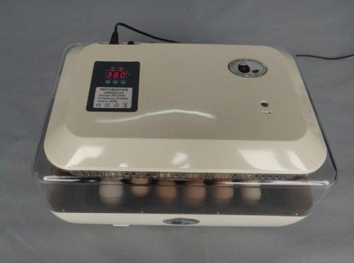 ZJchao (TM) 24 Eier Hühner Inkubator Automatische Turner Geflügel Reptile Hatcher
