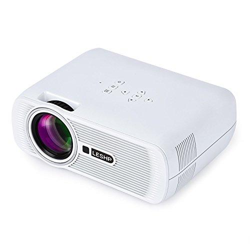 Mini Lampe leshp BL80-LED-LM 1200 Kontrast 1000: 1 HD Auflösung 1080P für Unterhaltung Film Foto...