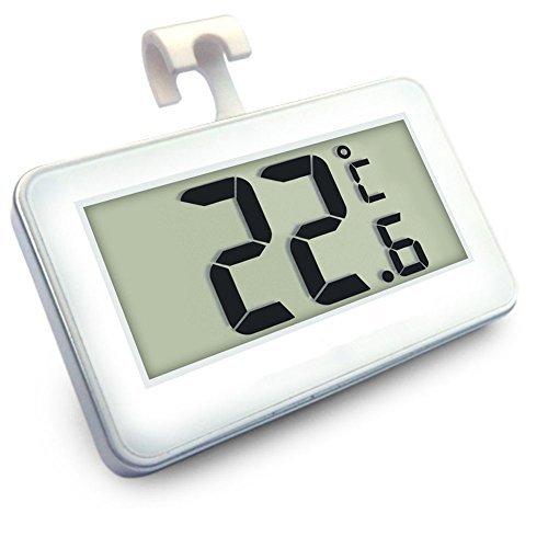 Digital-Tiefkühltruhe-Thermometer Drahtloser Kühlraum-Thermometer und Innentemperatur-Monitor...
