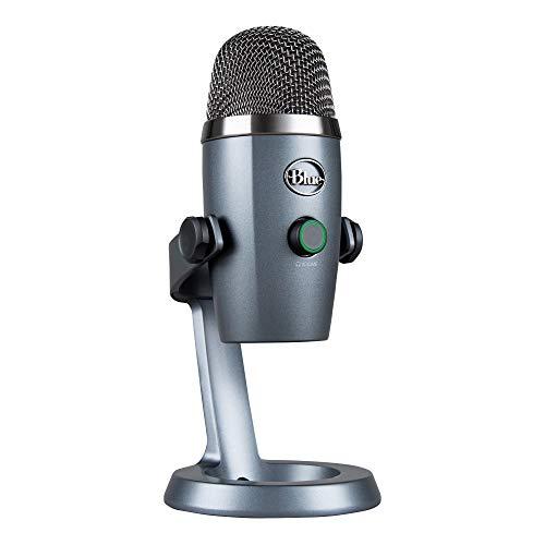 Blue Microphones 281 988-000205 Blue Yeti Nano USB Mic Microphone Grau