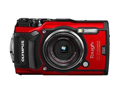 Olympus Tough TG-5 Digitalkamera (12 MP, 25-100 mm 1:2,0 Objektiv, GPS, Manometer, Temperatursensor,...