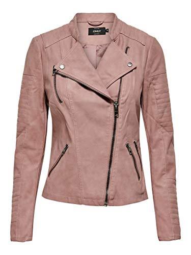 ONLY Female Jacke Leder-Look 36Ash Rose