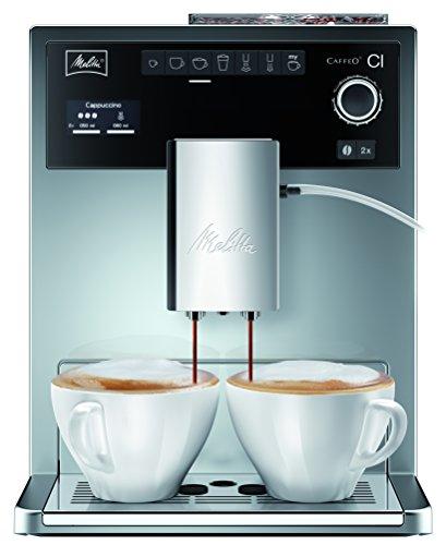 Melitta Caffeo CI Special E970-306, Kaffeevollautomat mit Zweikammern-Bohnenbehälter, One Touch...