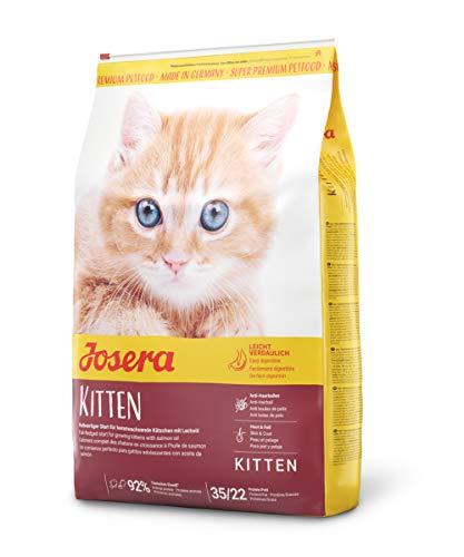 JOSERA Kitten (1 x 10 kg) | Katzenfutter für eine optimale Entwicklung | Super Premium...