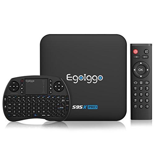 TICTID S95X Pro Android 6.0 TV Box Smart TV Box mit Mini Wireless Tastatur / 2GB Ram+16GB eMMC /...