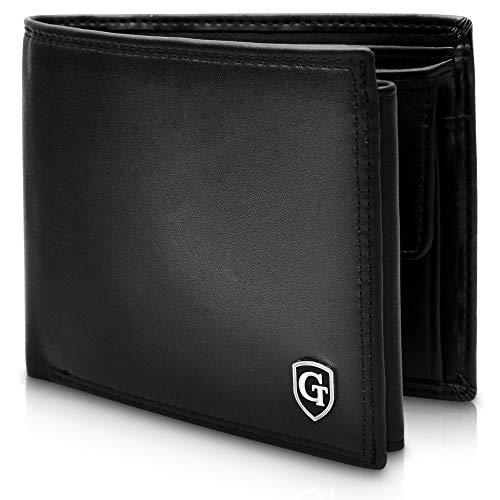 GenTo Manhattan Große Geldbörse mit Münzfach - TÜV geprüfter RFID, NFC Schutz - geräumiges...