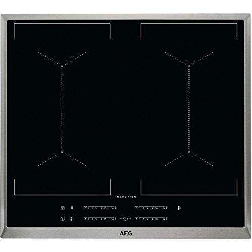 AEG IKE64450XB Autarkes Kochfeld / Herdplatte mit Touchscreen & Topferkennung / Induktionskochplatte...