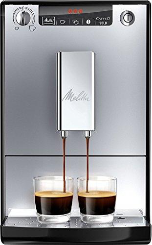 Melitta Caffeo Solo E950-103 Schlanker Kaffeevollautomat mit Vorbrühfunktion | 15 Bar | LED-Display...