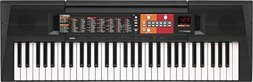 Yamaha Digital Keyboard PSR-F51, schwarz – Einfaches & benutzerfreundliches Einsteiger Instrument...