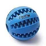 PetPäl Hundeball mit Zahnpflege-Funktion Noppen Hundespielzeug aus Naturkautschuk - RobusterHunde...