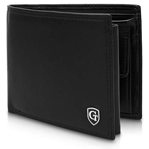 GenTo® Brooklyn Herren Geldbörse mit Münzfach - TÜV geprüfter RFID, NFC Schutz - geräumiges...