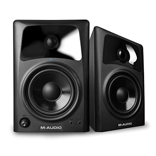M-Audio AV42 - 2-Weg Aktiv Lautsprecher für PC, Gaming, Filme oder das Hören Ihrer Lieblingsmusik