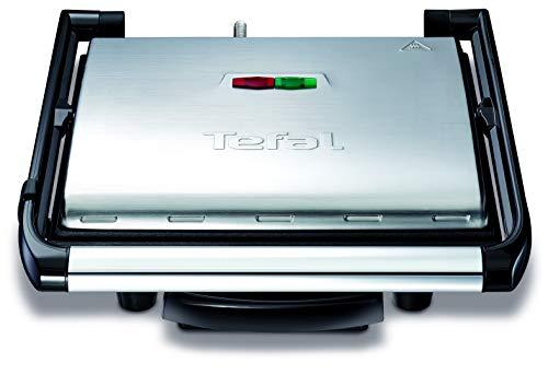 Tefal Kontaktgrill Inicio GC241D [Elektrogrill / Sandwichtoaster; fettarmes Grillen; Panini, Toasts,...