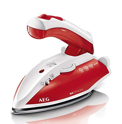 AEG DBT 800 Reise-Dampfbügeleisen / variabler, kontinuierlicher Dampf / ergonomischer Klappgriff /...