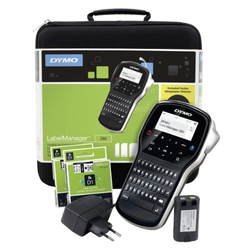 Dymo LabelManager 280 Beschriftungsgerät im Koffer
