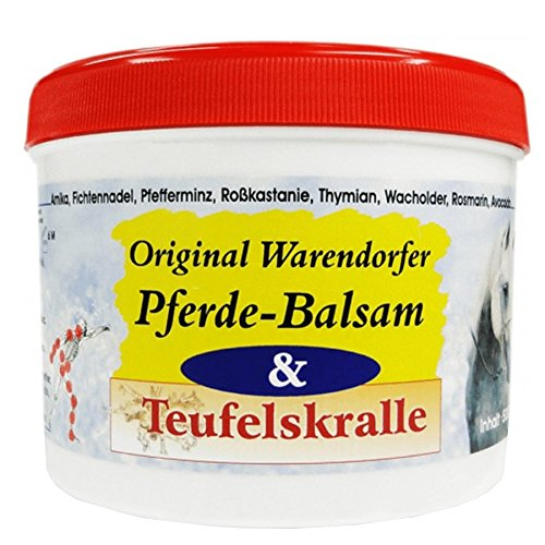 Warendorfer Pferdebalsam mit Teufelskralle - Pferdesalbe - erfrischend - kühlend - mit angenehmen...