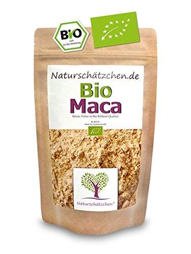 Bio Maca Pulver (Macapulver) in geprüfter Bio-Qualität (DE-ÖKO-022) (1x 250g)