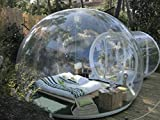 RISHENG Windundurchlässiges transparentes pvc zelte/Aufblasbare Bubble Zelt Haus Dome Outdoor Clear...