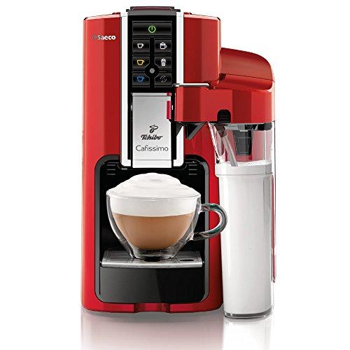 Tchibo Saeco Cafissimo Latte Kapselmaschine (für Kaffee, Espresso,Caffé Crema,Latte...