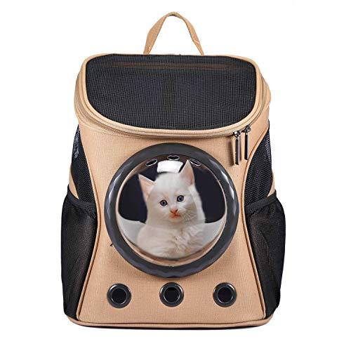 HAPPY HACHI Innovative Traveler Bubble Haustier Rucksack Transportboxen Airline Travel zugelassen...