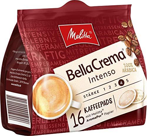 Melitta gemahlener Röstkaffee in Kaffeepads, 10 x 16 Pads, 100% Arabica, starkes Aroma, intensiver...