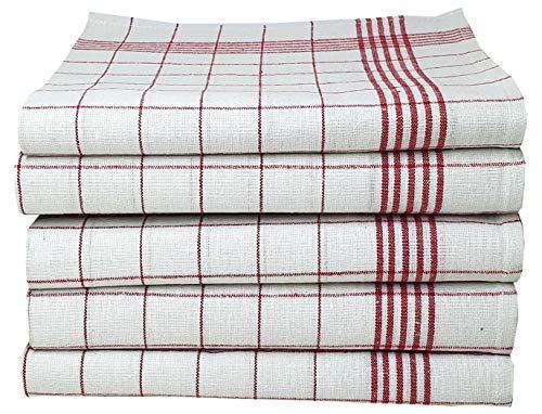 10 Stk 200 Stk Geschirrtücher Bunte Mischung 100 /% Baumwolle 50 x 70 cm