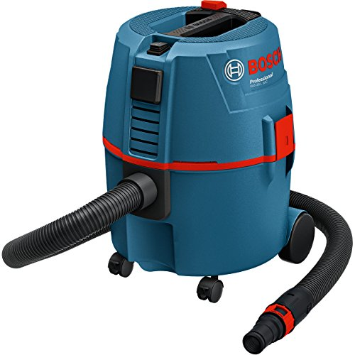Bosch Professional Nass-/Trockensauger GAS 20 L SFC (1200 Watt, 20 L Behältervolumen)
