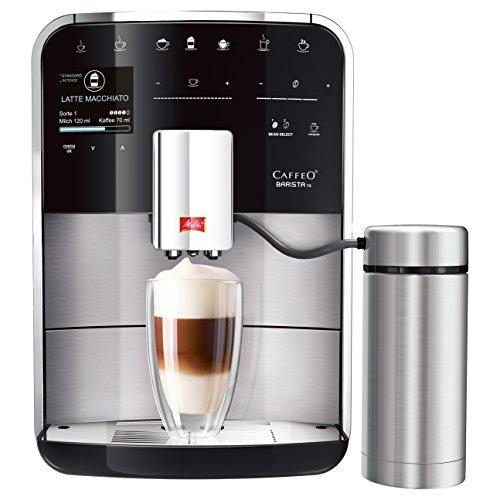 Melitta Caffeo Barista TS F760-200 Kaffeevollautomat mit Milchbehälter | intenseAroma Funktion |...