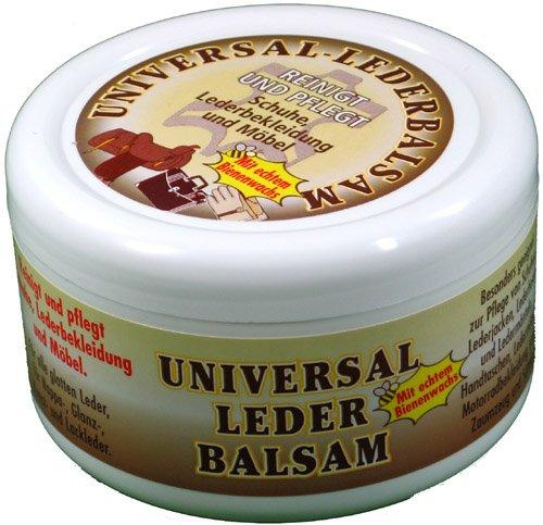 Universal Lederbalsam 250ml mit echtem Bienenwachs zur Pflege und Reinigung von Zaumzeug Sättel...