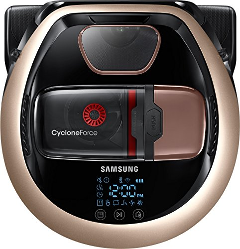 Samsung VR7000 VR2DM7060WD/EG POWERbot Saugroboter (130W extra starke Saugkraft ideal für Teppiche...