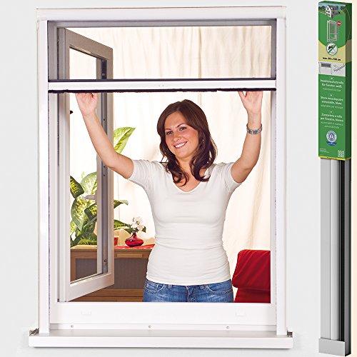 easy life PVC Insektenschutz-Rollo greenLINE Basic für Fenster Fliegengitter Insektenrollo...