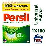 Persil Universal Pulver, Vollwaschmittel, mit Tiefenrein-Technologie, 1er Pack (1 x 100...