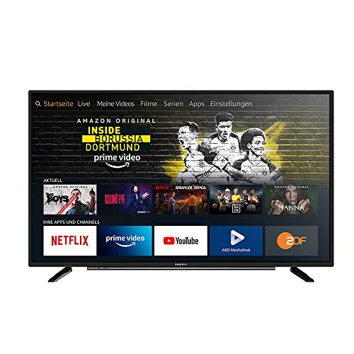 Grundig Vision 6 - Fire TV (43 VLE 6010) 109 cm (43 Zoll) Fernseher (Full HD, Alexa-Sprachsteuerung,...