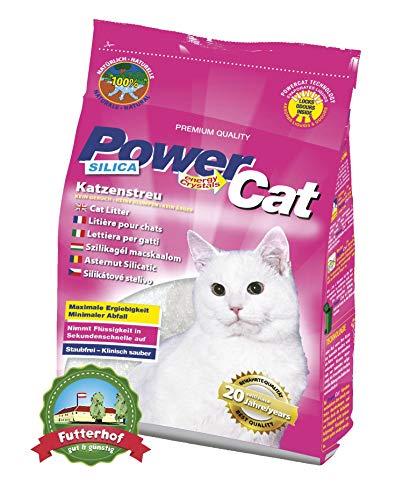 12 x 5 l = 60L PowerCat Magic Silikat Katzenstreu
