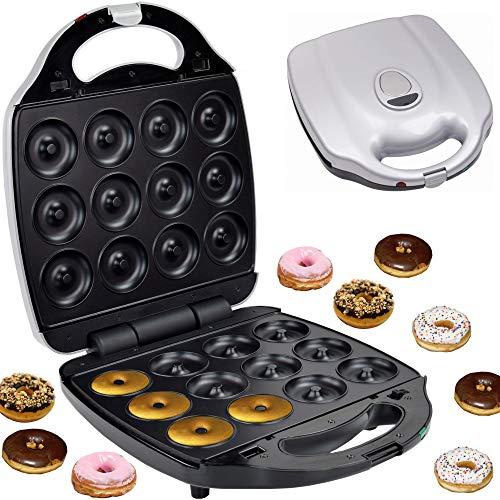 Syntrox Germany XXL Donutmaker Chef Maker mit herausnehmbaren und spülmaschinen geeigneten...