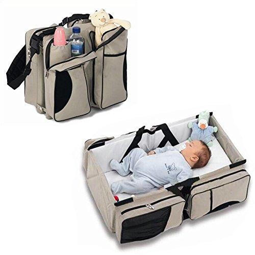 Zanza 3in 1-Wickeltasche, Mehrzweck-Tasche, für Reisen, für Stubenwagen, für Babys und...