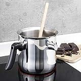 HI Milchtopf & Simmertopf (1,2 Liter) - Milchkochtopf doppelwandig, z.B. zum Milch erwärmen im...