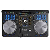 Hercules Universal DJ (2-Deck DJ Controller, Bluetooth, 16 Performance-Pads, Audio In/Out, DJUCED,...