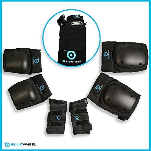 Bluewheel Schutzausrüstung PS200 für Self Balance Scooter, Inline-Skate, BMX-Fahrrad, Skateboard;...