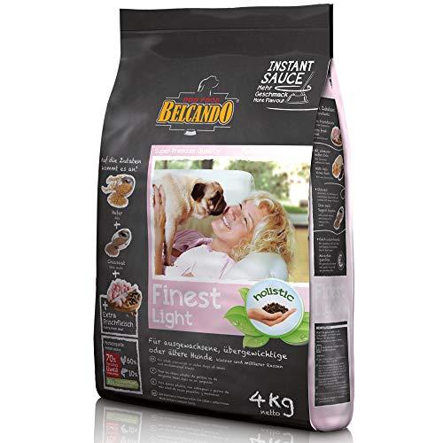 Belcando Finest Light [4 kg] Hundefutter | Trockenfutter für kleine & mittlere übergewichtige...