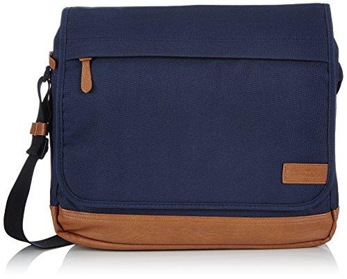 Tom Tailor Acc BRANDON 16051 Herren Schultertaschen 38x31x12 cm (B x H x T), Blau (blau 50)