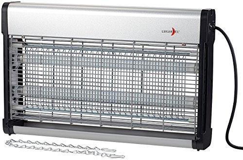 Lunartec Mückenlampe: UV-Insektenvernichter IV-630 mit austauschbarer UV-Röhre, 37 Watt...