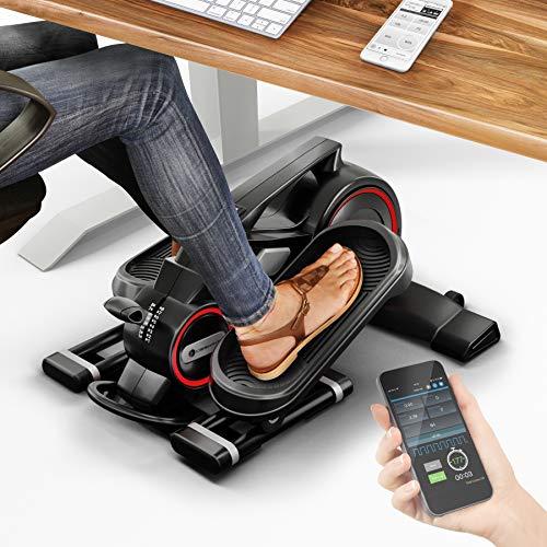 MesseNeuheit 2020! Mini Heimtrainer mit App, Stepper DFX100 Crosstrainer für Bewegung im Büro...