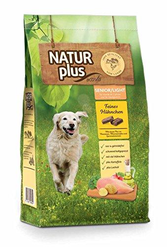 Natur Plus Trockenfutter Hundefutter Senior/Light (getreidefrei) (12 kg) (Jetzt RAW Nature)…