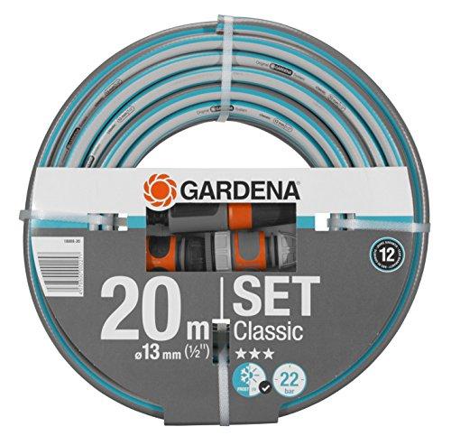Gardena Classic Schlauch 13 mm (1/2 Zoll), 20 m: Universeller Gartenschlauch aus robustem...
