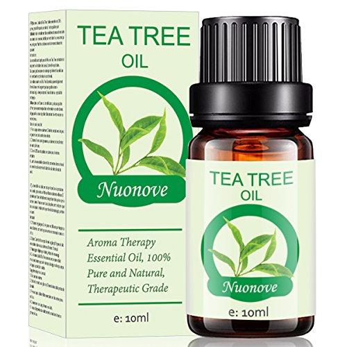 Teebaumöl, Tea Tree Oil, Teebaum Öl, Teebaumöl Gesicht,Heilendes Teebaum Öl für Gegen unreine...